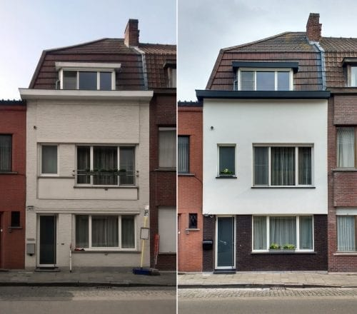 Verbouwing rijwoning Gent